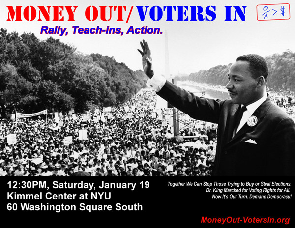 Money Out - Voters In 2013